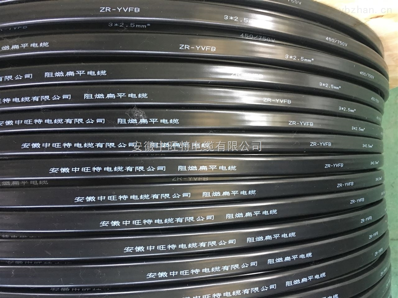 YVFBP-8*1 YVFB3*35+1*1*16扁平电缆