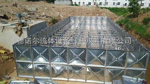 恩施 地埋式防腐钢制水箱 报价