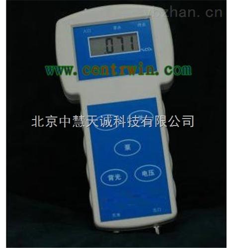 ZH7706型手持式紅外線CO2分析儀/不分光紅外線氣體分析儀