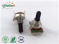 R1612G双联电位器旋转电阻器碳膜带螺牙