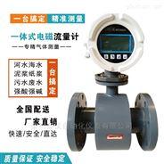 电磁流量计液体水管道式污水泥浆一体分体式