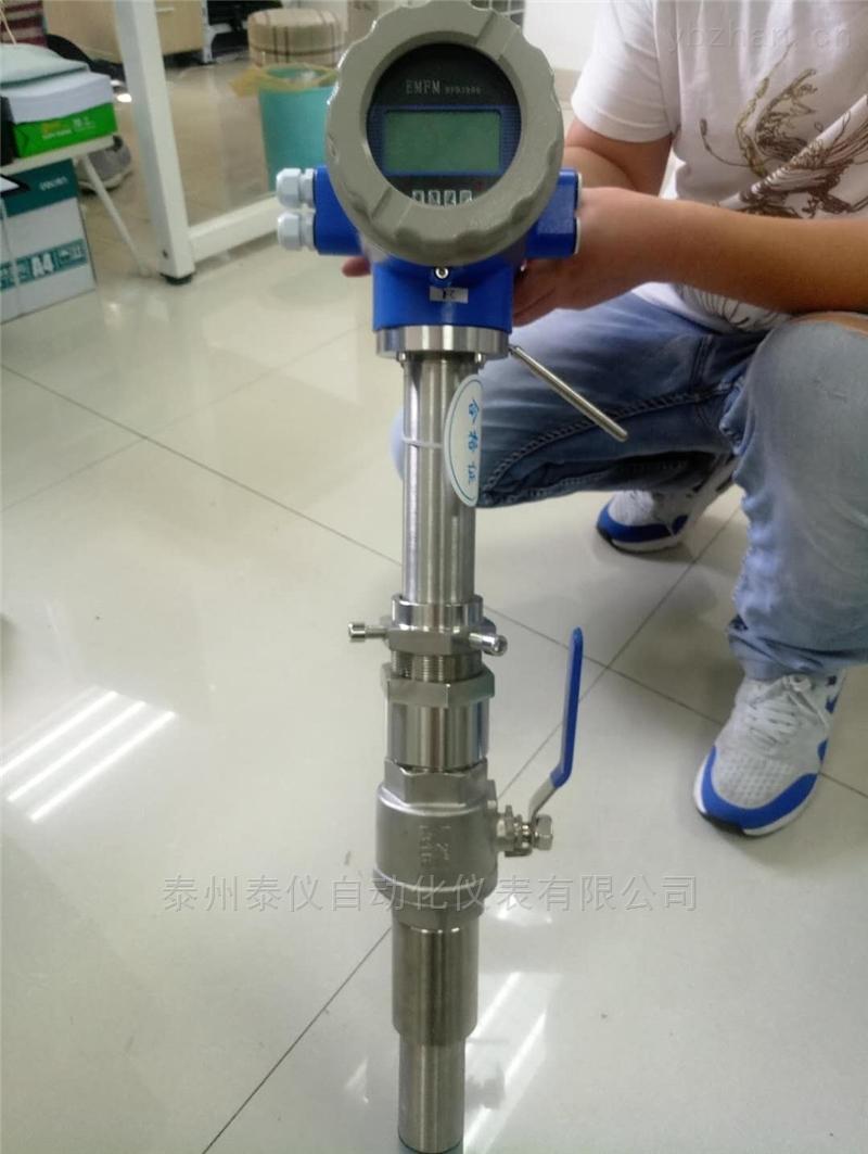 TYLDE-插入式電磁流量計 污水鹽酸泥漿液體