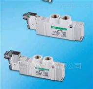 4JA1 2 9 M5 E20特价经销CKD导式5通换向阀尺寸图