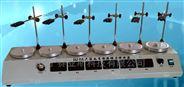 六聯數顯恒溫磁力加熱攪拌器SYS-HJ-6A