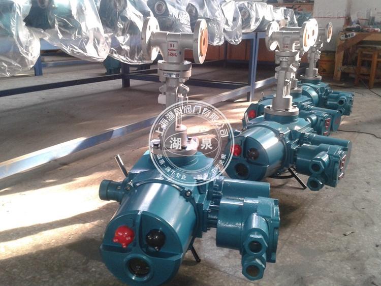 電動礦用高溫高壓截止閥產品展示