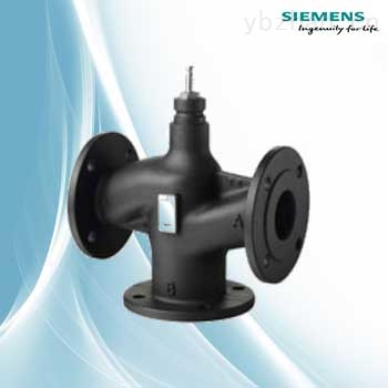 西门子电动温控阀VXF43.125-250三通控制阀