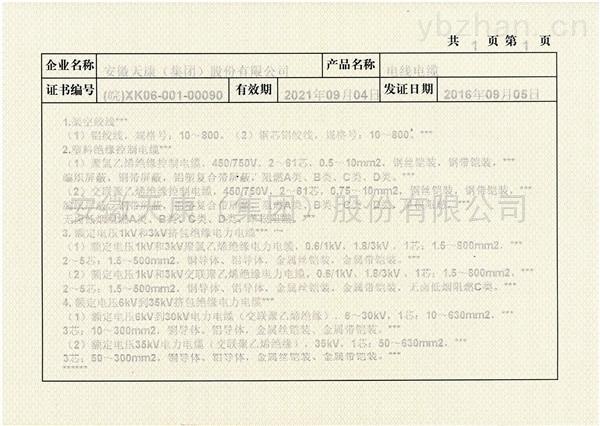全国工业产品生产许可证附件