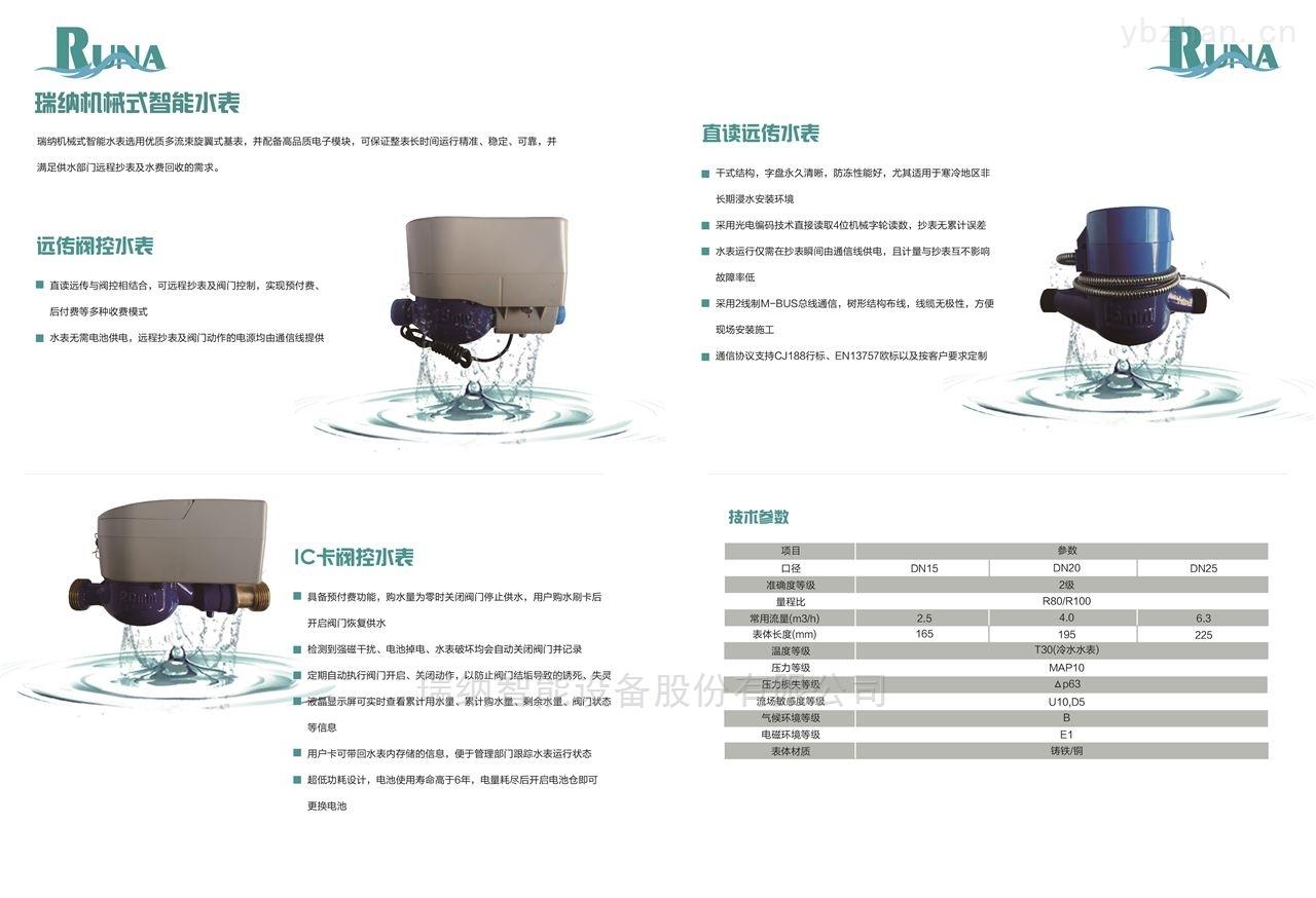 RN-DN-15-20-25-瑞納機械式智能水表