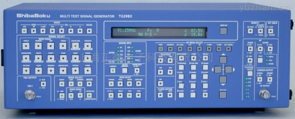 TG39BX模拟电视信号发生器