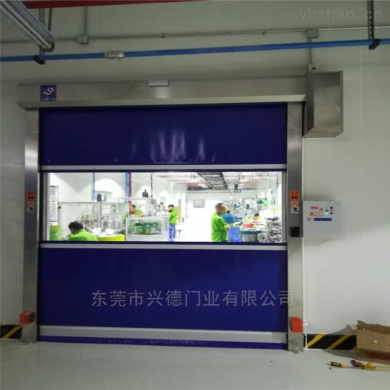 珠海XDM-KSM车间大型抗风自动感应堆积门