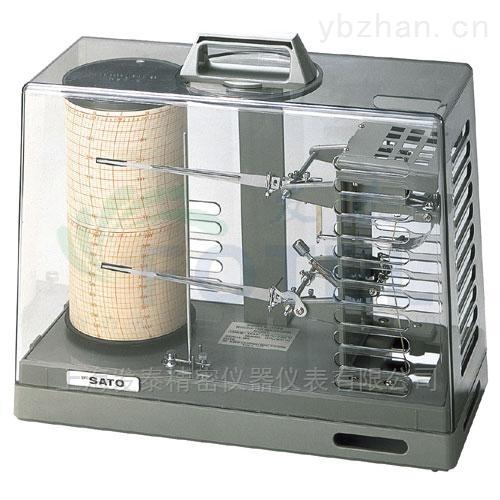 7210-00-日本佐藤溫濕度記錄儀