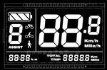 現貨供應電動車儀表LCD液晶顯示屏