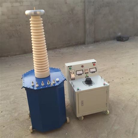 工频耐压试验装置油浸式变压器配控制箱
