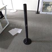 通头加1米立式加底盘铝合金材质防爆操作柱