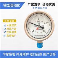 YN-100B不锈钢耐震压力表价格
