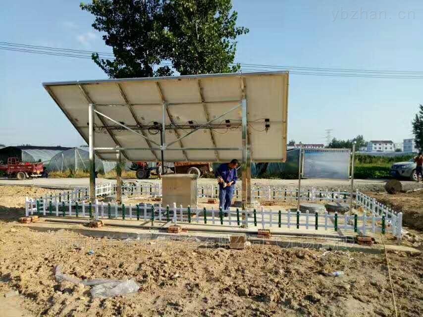 节省用料太阳能微动力污水处理设备