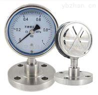YBFN-100不锈钢耐震防腐压力表