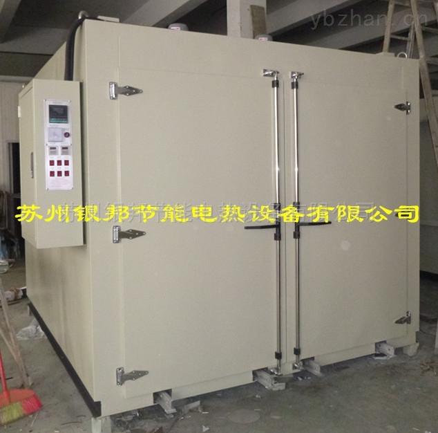 承重型轨道式烘箱 电加热轨道式台车烘箱 大型台车式烘烤箱