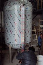 厂家供应宝鸡高陵消防泡沫液磁性液位计消防工程液位仪表