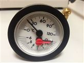 供應內徑52mm0-6bar壁掛爐用溫度壓力表