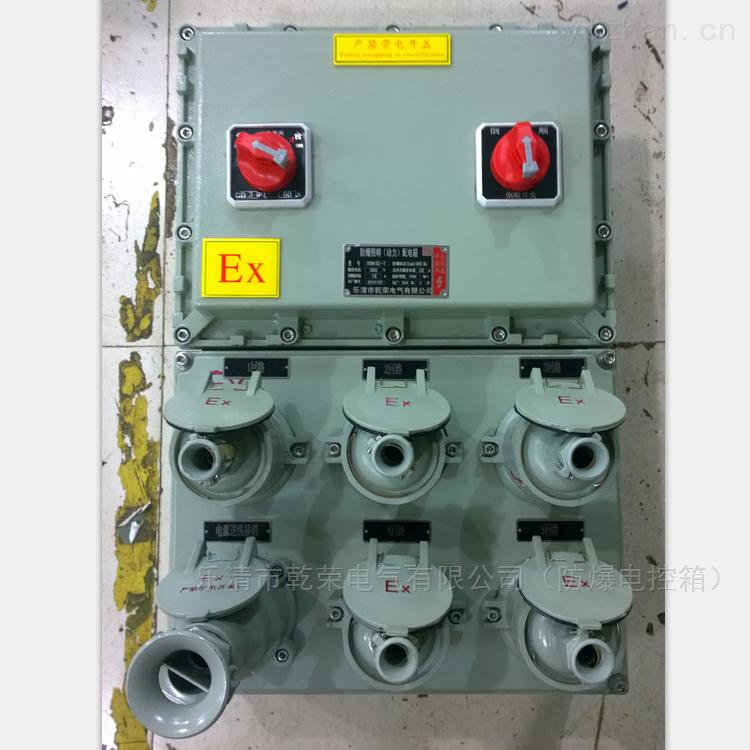 防爆电源检修插座箱
