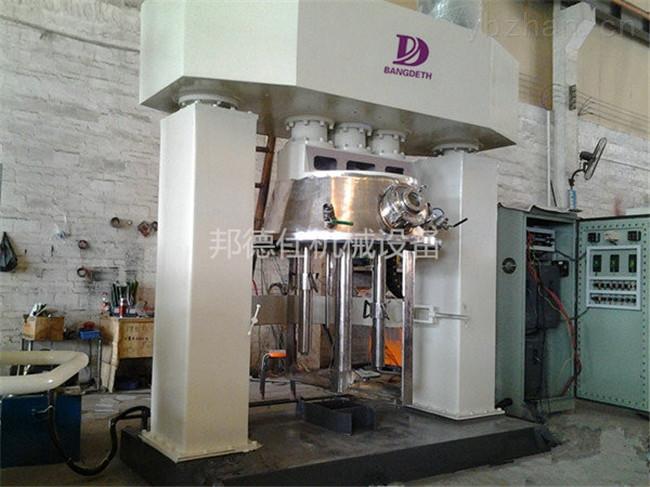 QF5-5000L-真空型强力分散机 硅酮密封胶生产设备定制