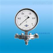 YEC-100B不锈钢耐震膜片压力表