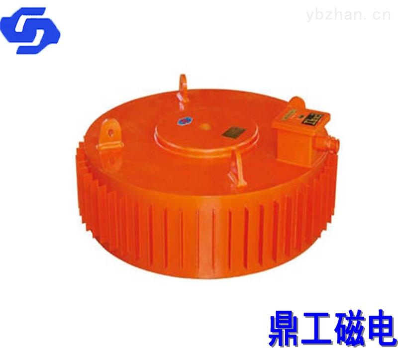 圆盘式除铁器鼎工专业定制强磁除铁机