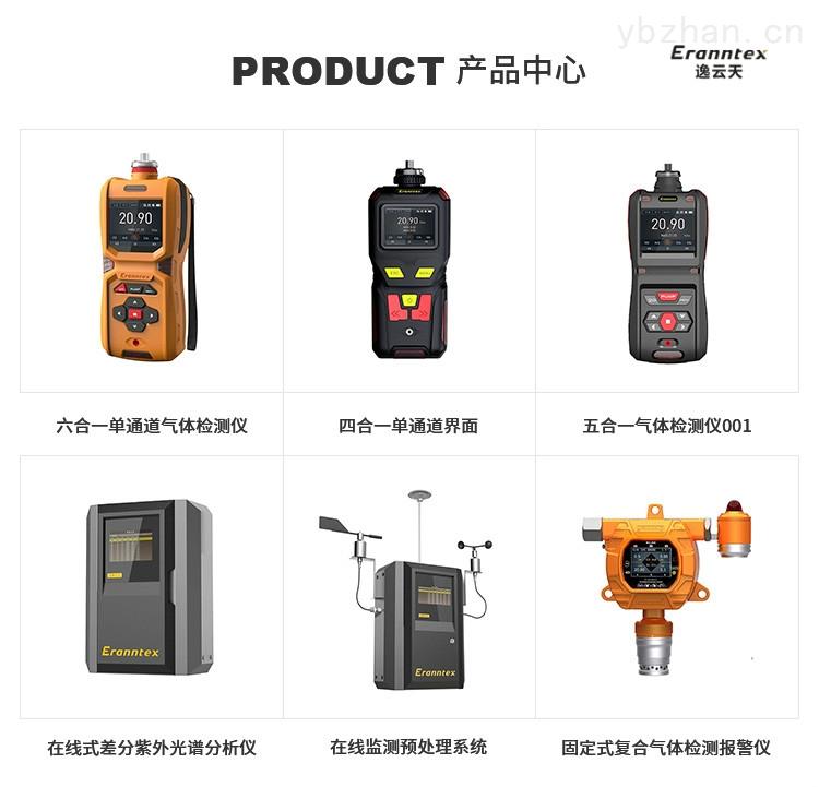广州气体泄漏检测仪厂家 固定式硫化氢报警器-逸云天