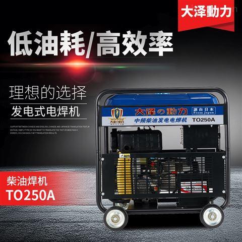 高原250A发电电焊机定制