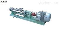 不銹鋼螺桿泵G型(衛生級)