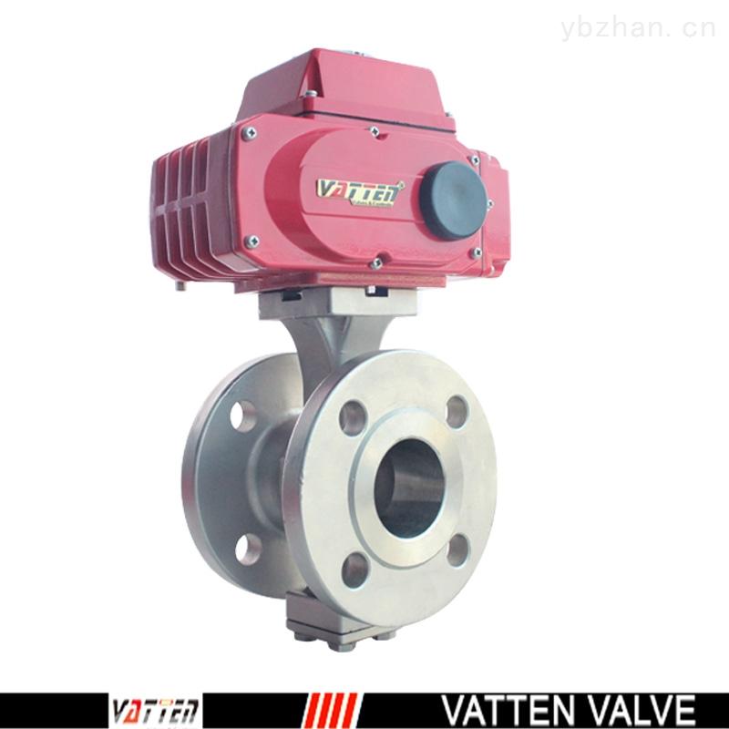 VT防爆電動進口V型球閥