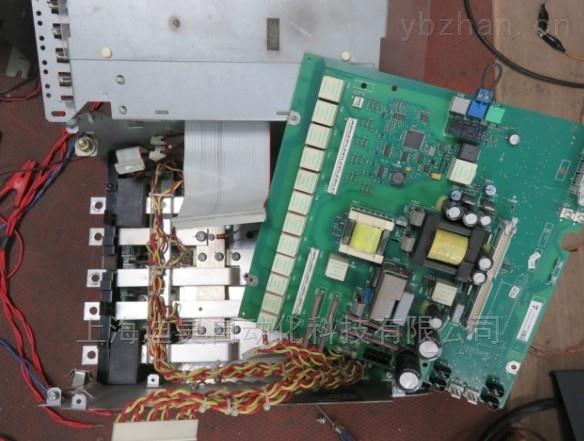 西门子6RA80空机器正常带负载电机发抖维修