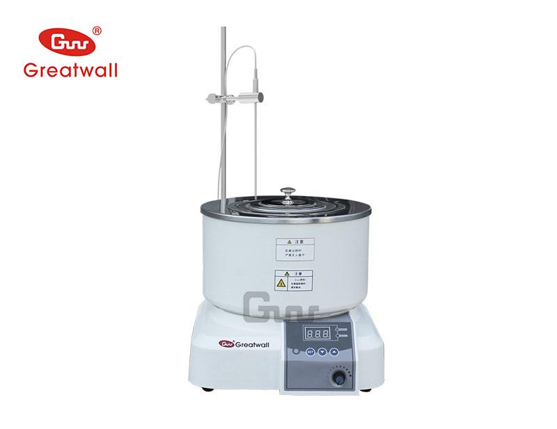 郑州长城科工贸有限公司集热式恒温磁力搅拌反应浴
