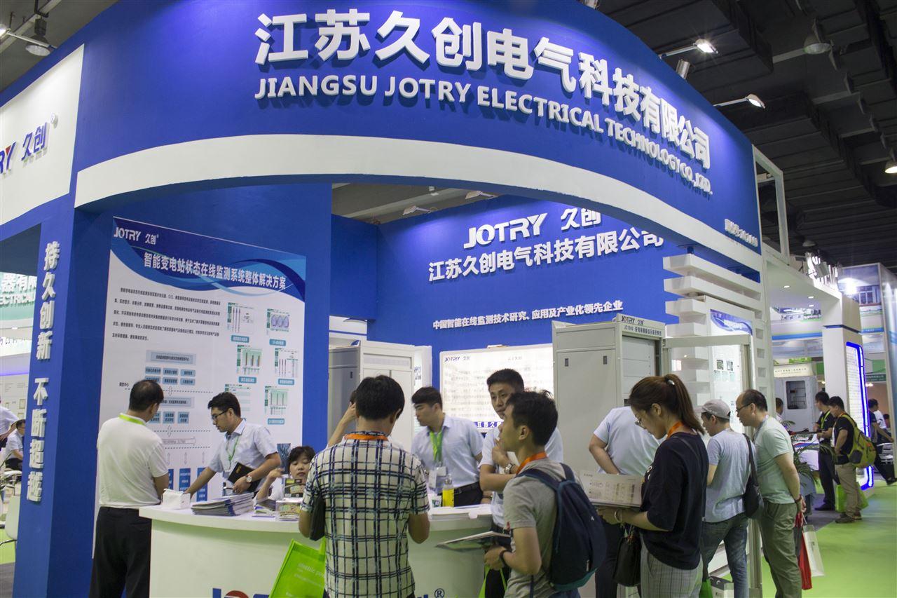 亚洲电力展开幕 久创科技携明星产品大放异彩
