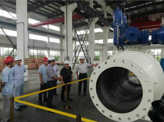 中核科技研制的大口径全焊接球阀通过省级新产品鉴定