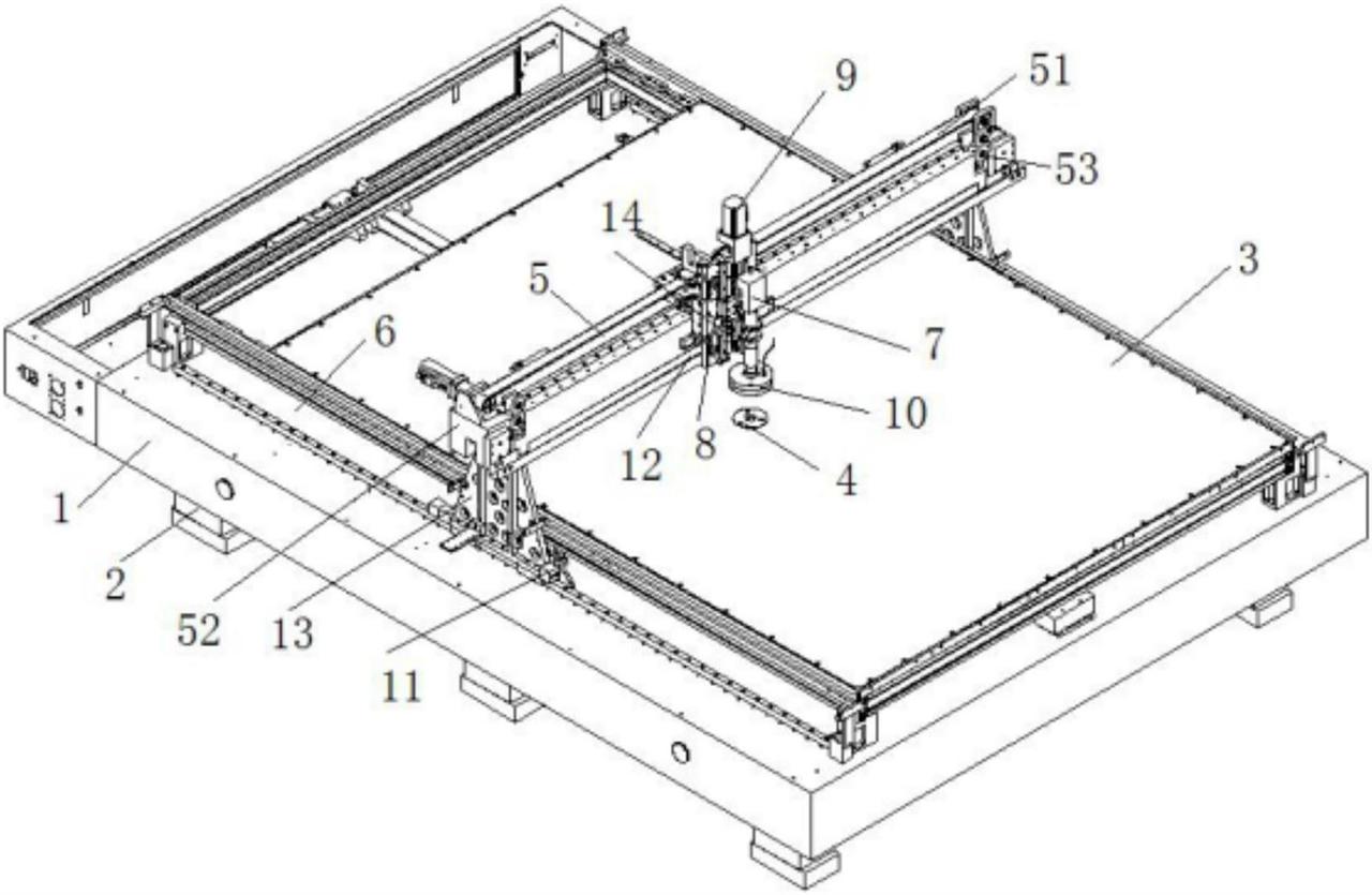 【儀表最新專利】一種超大型高精密面板測量儀器