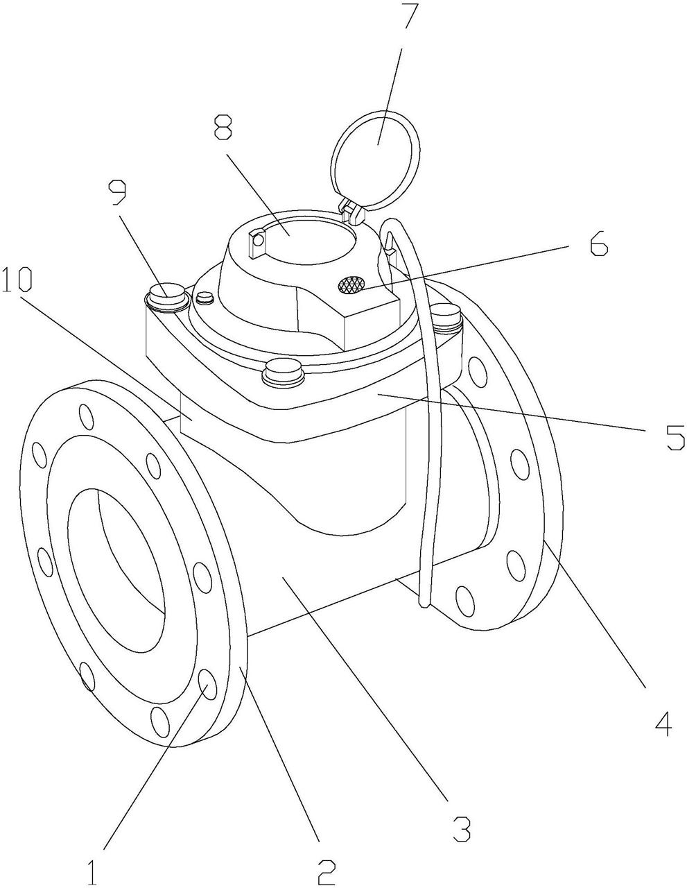 【仪表最新专利】一种新型的智能防盗水表