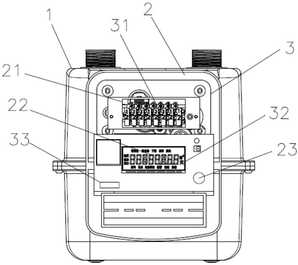 【仪表新专利】一种模块化膜式燃气表
