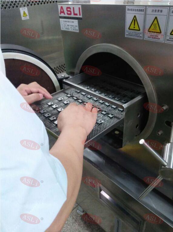 PCT高压老化试验箱测试芯片